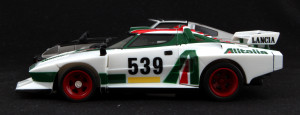 How low can you go? The Stratos Turbo was barely higher than your belt buckle.