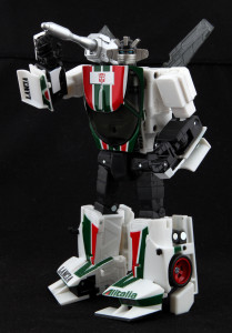 """And I'm Wheeljack, the Autobots' brilliant and talented mechanical engineer!"""