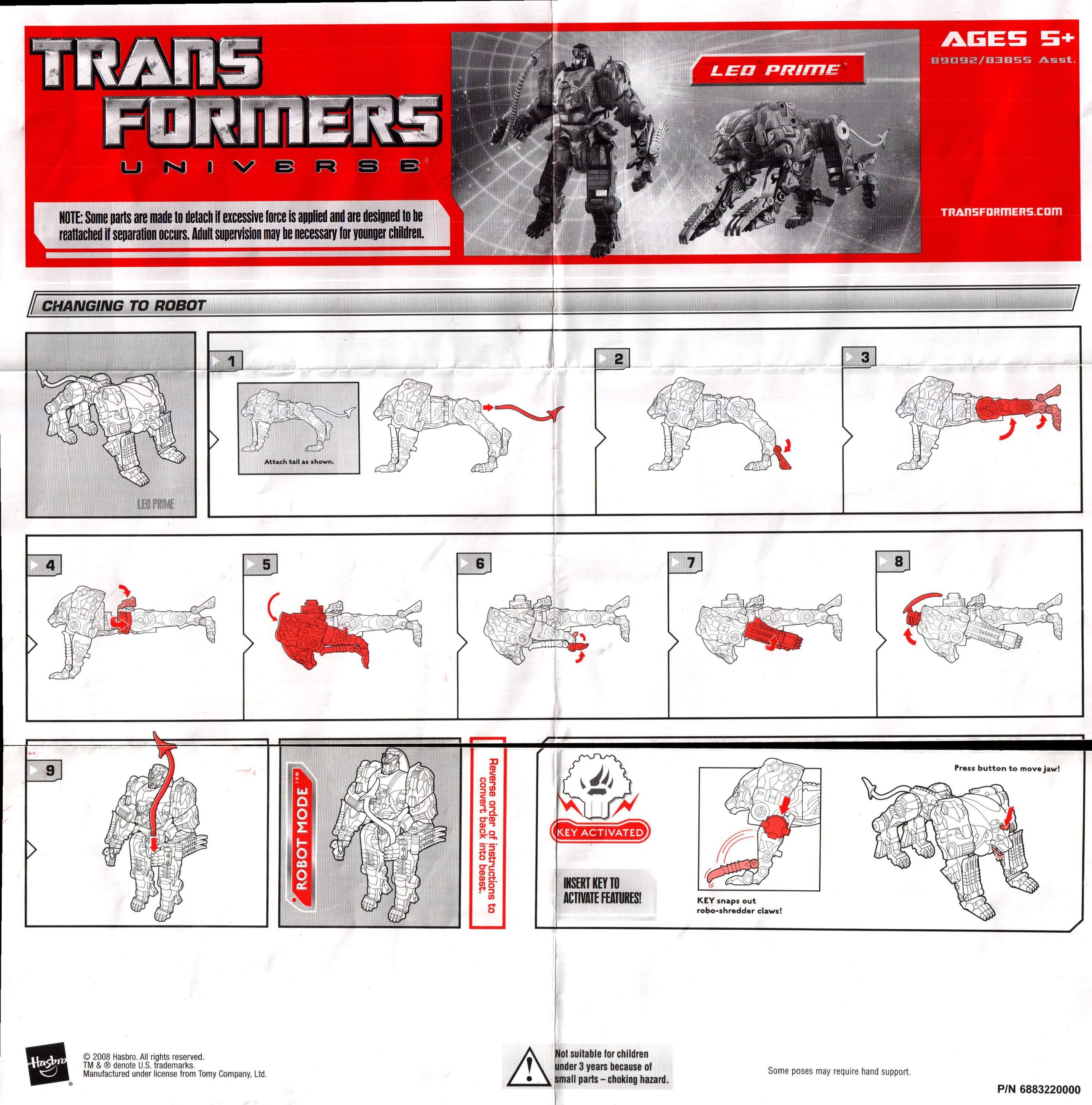 Target Toy Guide : Voyager class leo prime transformers universe autobot
