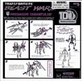 Predacon Tarantulus hires scan of Instructions