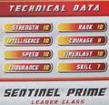 Sentinel Prime hires scan of Techspecs