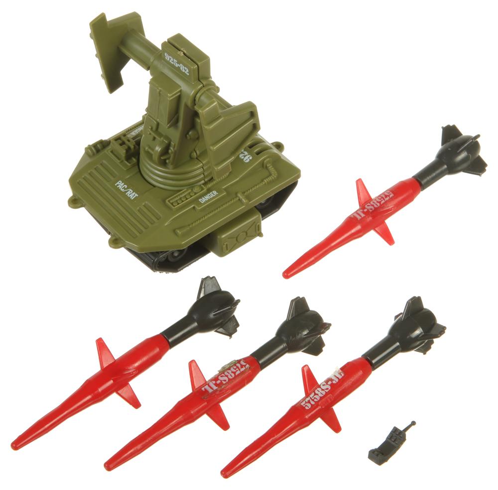 GI JOE véhicule//Playset partie 1983 PAC//RAT lance-missiles antimissile