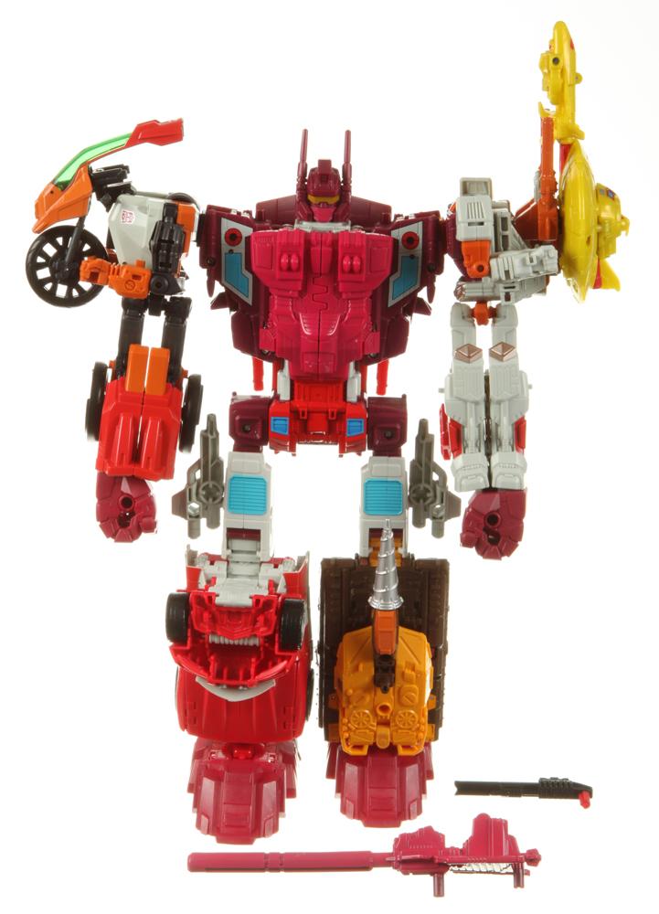 Gun /& Card Transformers Generations Combiner Wars COMPUTRON SCATTERSHOT