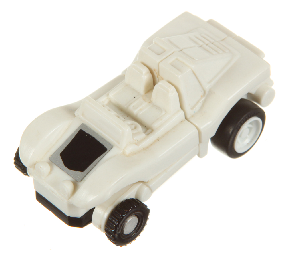 Mini-Spies Dune Buggy (White Autobot) (Transformers, G1