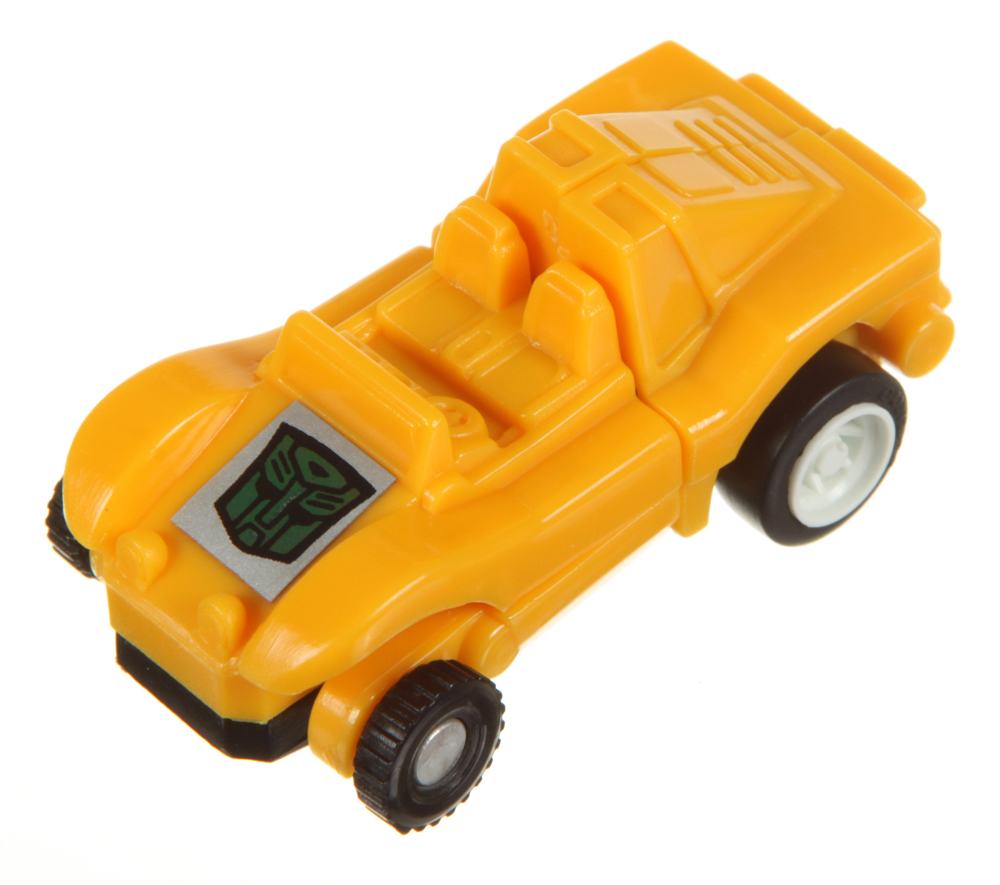 Mini-Spies Dune Buggy (Yellow Autobot) (Transformers, G1