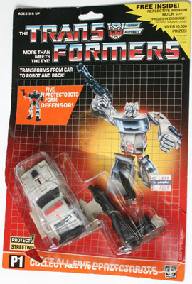 G1 Transformers Protectobot Defensor Streetwise Cannon