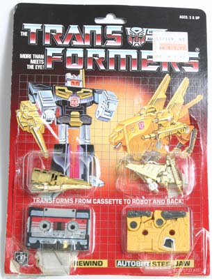 minicassettes rewind transformers g1 autobot