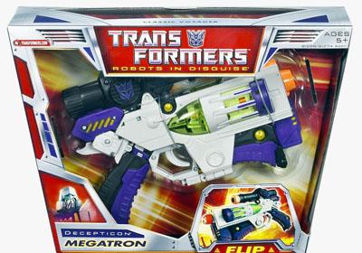 megatron transformer toy instructions