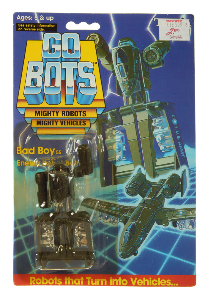 Bad Boy Toys : Regular bad boy gobots tonka renegade