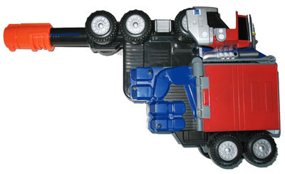 Optimus Prime (Battle Rig Blaster) (Gun Mode) Image