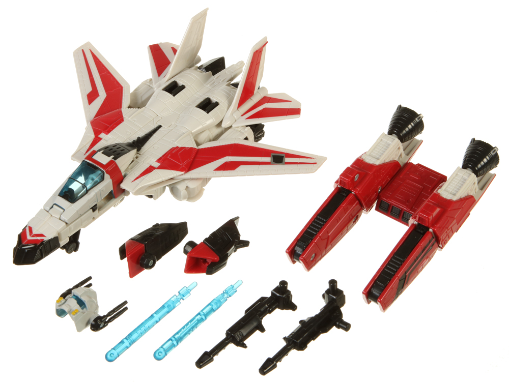 Voyager Class Jetfire Transformers Classics Autobot