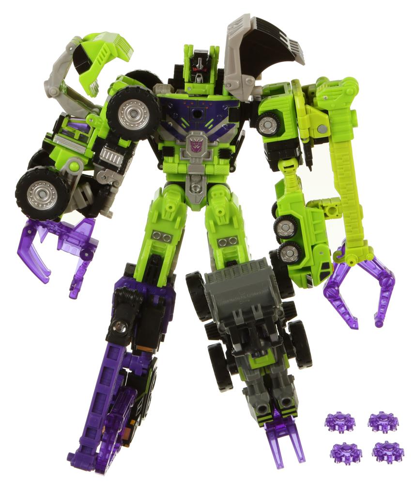 Transformers Energon STEAMHAMMER Complete Contructicon Devastator Figure