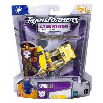 Transformers Cybertron Swindle Complete Scout Class