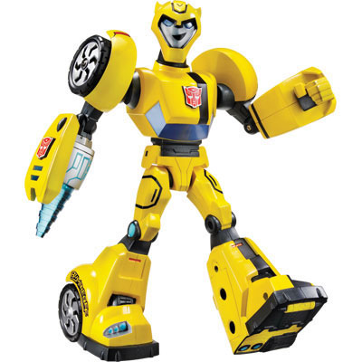 Bumblebee Transformers Animated Power Bots Cyber Speed...