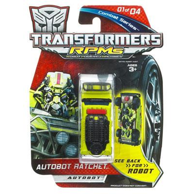 RPM - Combat Series Autobot Ratchet (Transformers, Movie ...