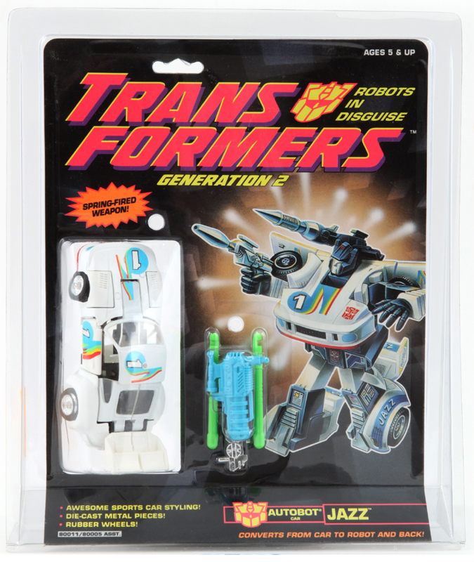 Vintage G2 Transformers Jazz Missile Launcher