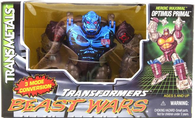 Transformers Beast Wars Mega Class OPTIMUS PRIMAL Mace MISSILE TRANSMETAL 1998