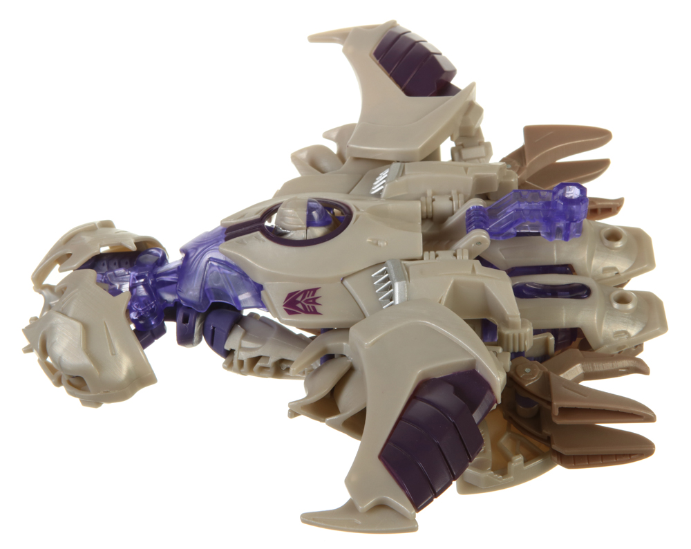transformers prime megatron toy instructions