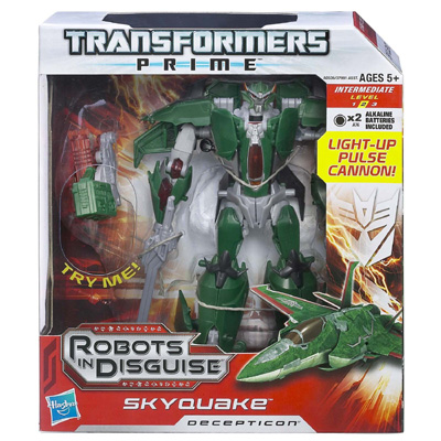 Voyager Class Skyquake (Transformers, Prime, Decepticon ...