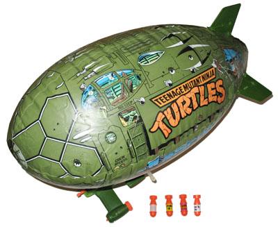 Sleep Dust Bomb Part 1988 Turtle Blimp TMNT Teenage Mutant Ninja Turtles