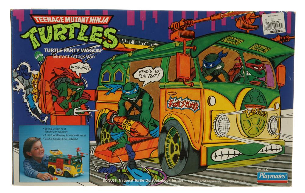 f35c34629a577 Vehicles Turtle Party Wagon (Teenage Mutant Ninja Turtles (TMNT ...