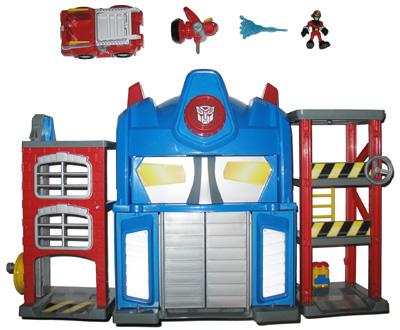 Rescue Bots House Transformers Rescue Bots