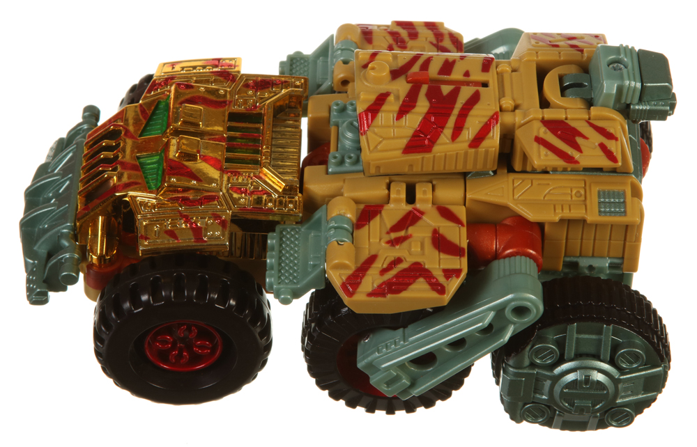 Transformers Beast Machines Weapon Blastcharge Red Missile Accessory 2000