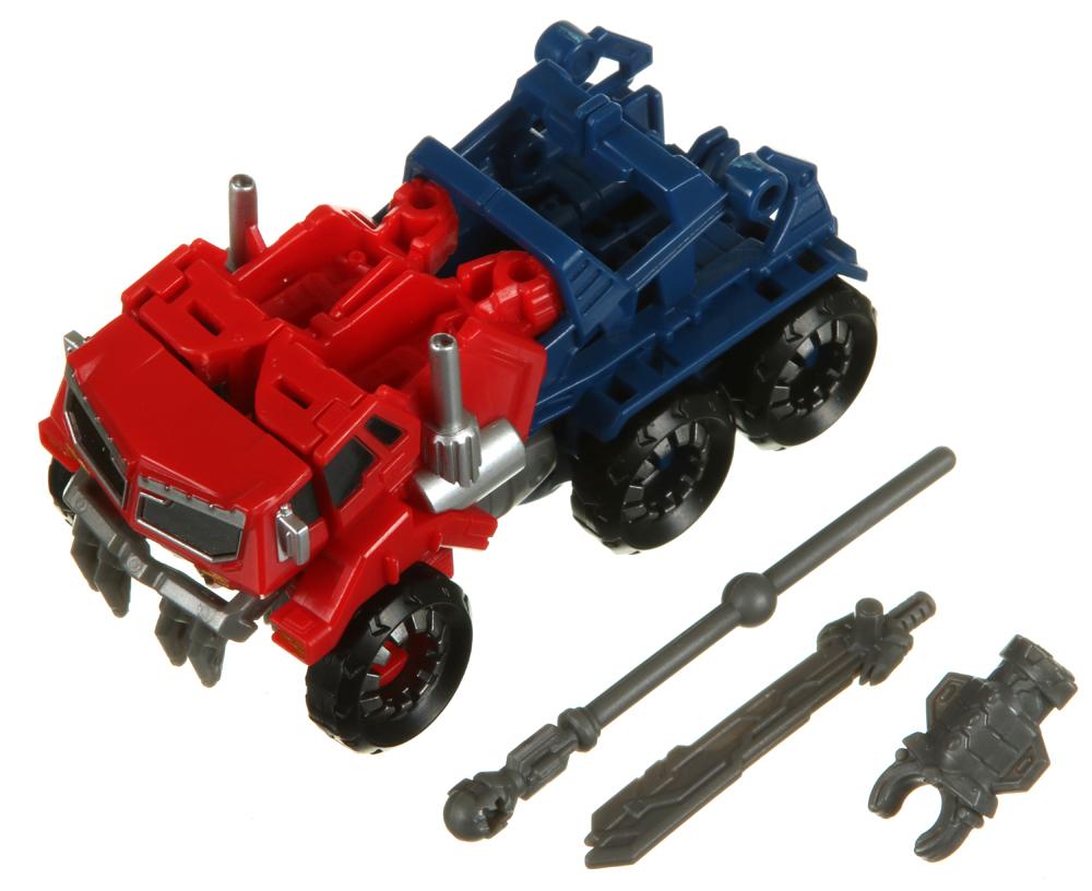 optimus prime toy instructions