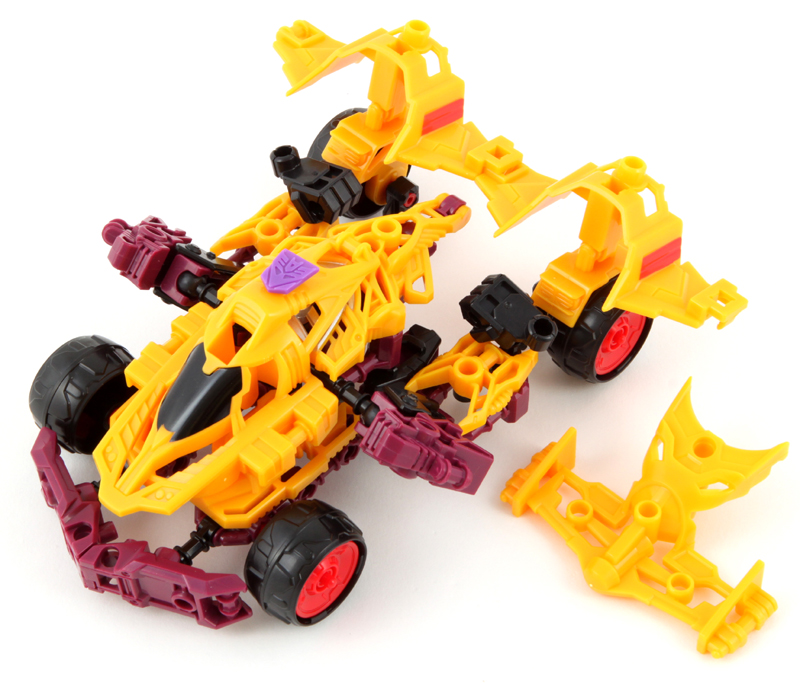 Transformers Age Of Extinction construct-bots Elite DragStrip New