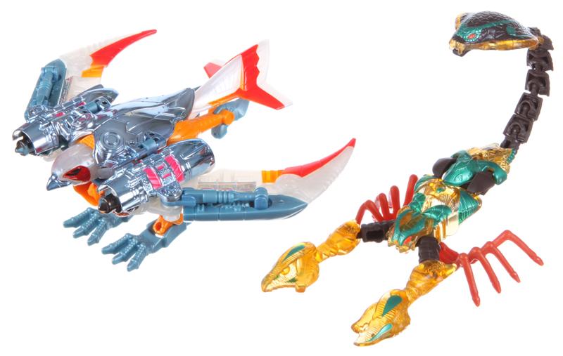 Japanese/'s Transformers Beast Wars Metals VS 45 Airazor vs Quickstrike