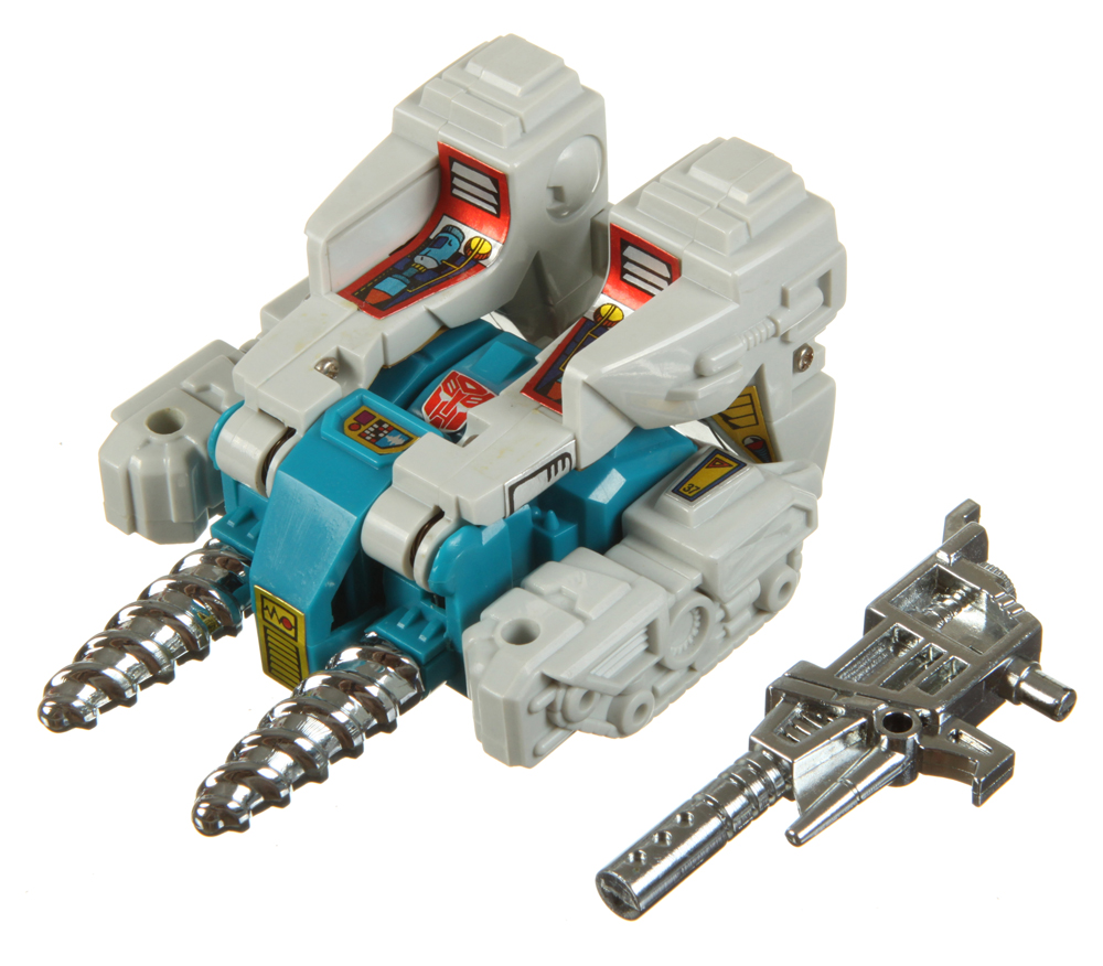 Vintage G1 Transformers Twintwist Twin Twist Gun