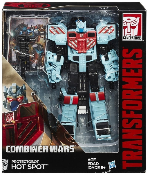 TRANSFORMERS GENERATIONS COMBINER WARS VOYAGER CLASS HOT SPOT 2-IN-1 FIGURE