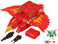 Picture of Fire Fortress Red Phoenix with Flykick (4)