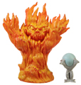 Picture of Fire Elemental (Magic) & Crystal Ball Treasure