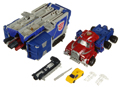 Picture of Optimus Prime with Sparkplug