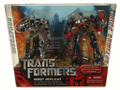 Boxed Battle Damaged Optimus Prime vs Megatron Image