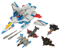 Picture of Ramjet with Thunderclash, Gunbarrel, Terradive, and Thunderwing