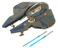 Picture of Obi-Wan Kenobi to Jedi Starfighter (Actis, blue)