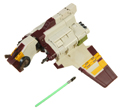 Picture of Yoda to Republic Attack Shuttle