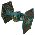 Picture of Battle Damaged Imperial TIE Fighter