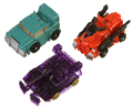 Picture of Spin Shot Scourge, Spin Shot Sergeant Kup, Blitzwing (BP005, BP0)