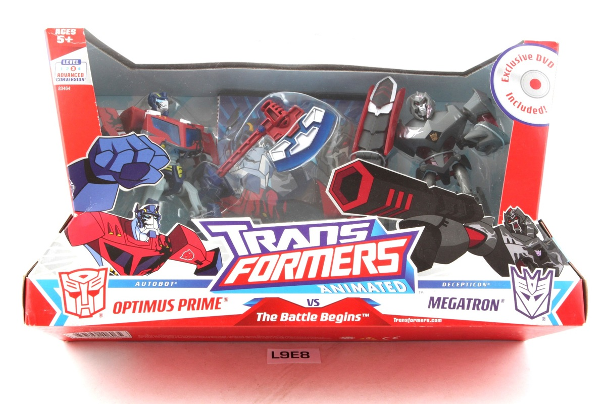 Transformers animated the battle begins optimus prime vs - Transformers cartoon optimus prime vs megatron ...