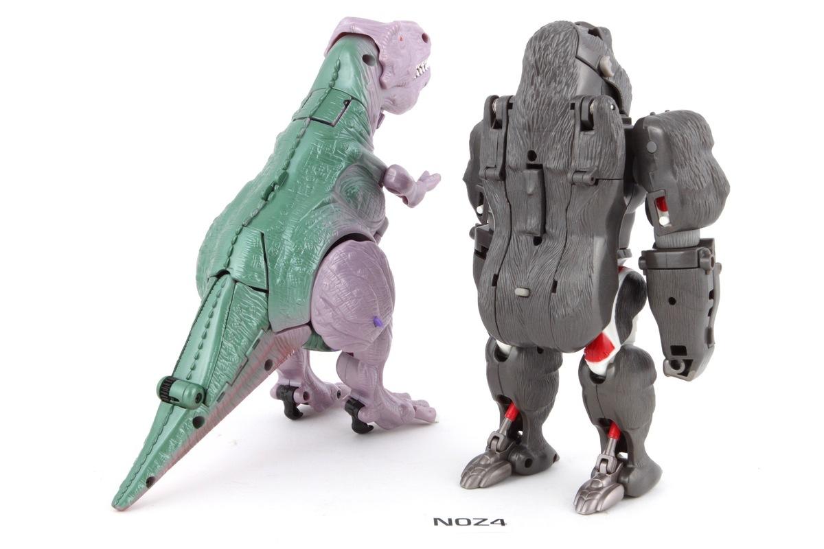 transformers beast wars 10th anniversary optimus primal vs