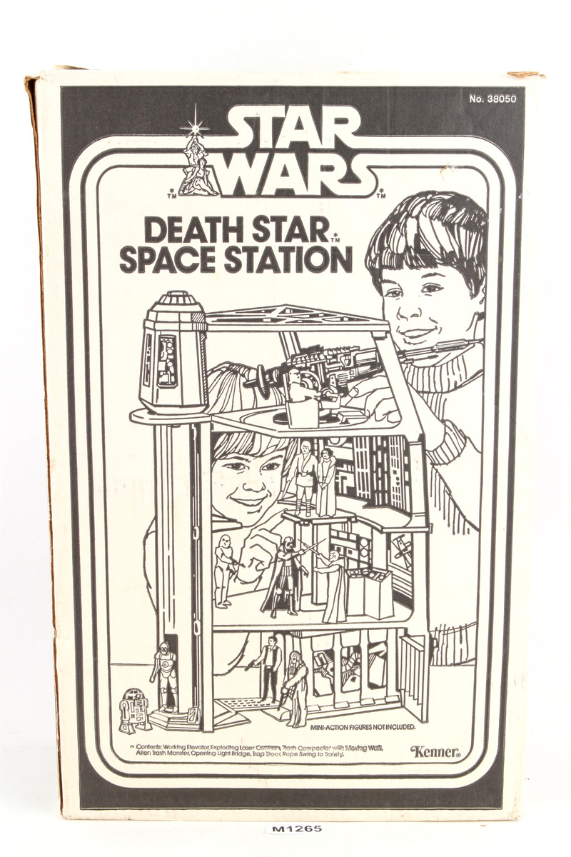 Death Star Space Station w Box Playsets Original Kenner ...