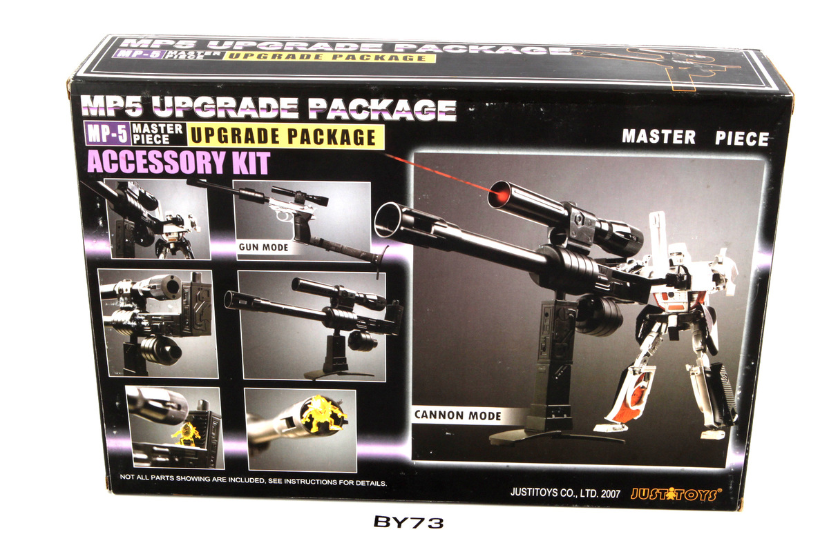 Transformers 3rd Party MP-5 Master Piece Upgrade Package