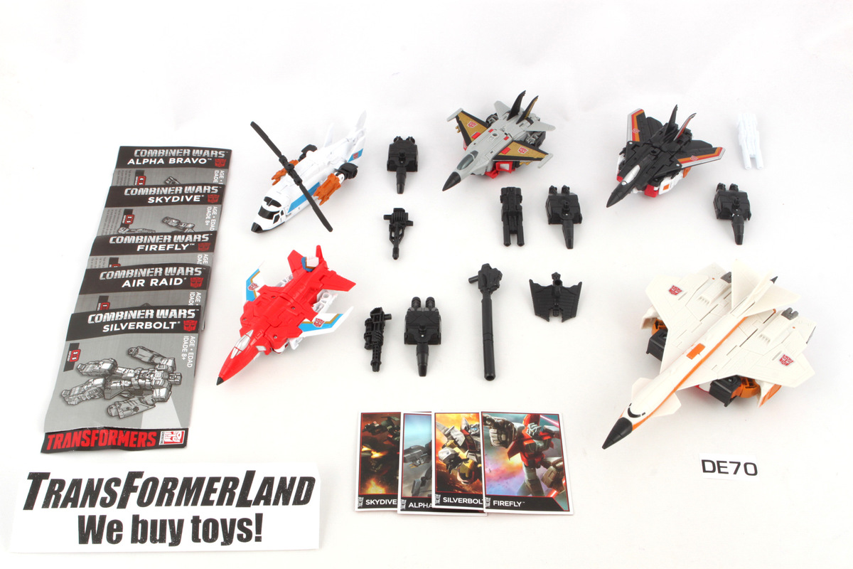 Superion 100% Complete Generations - Combiner Wars Transformers