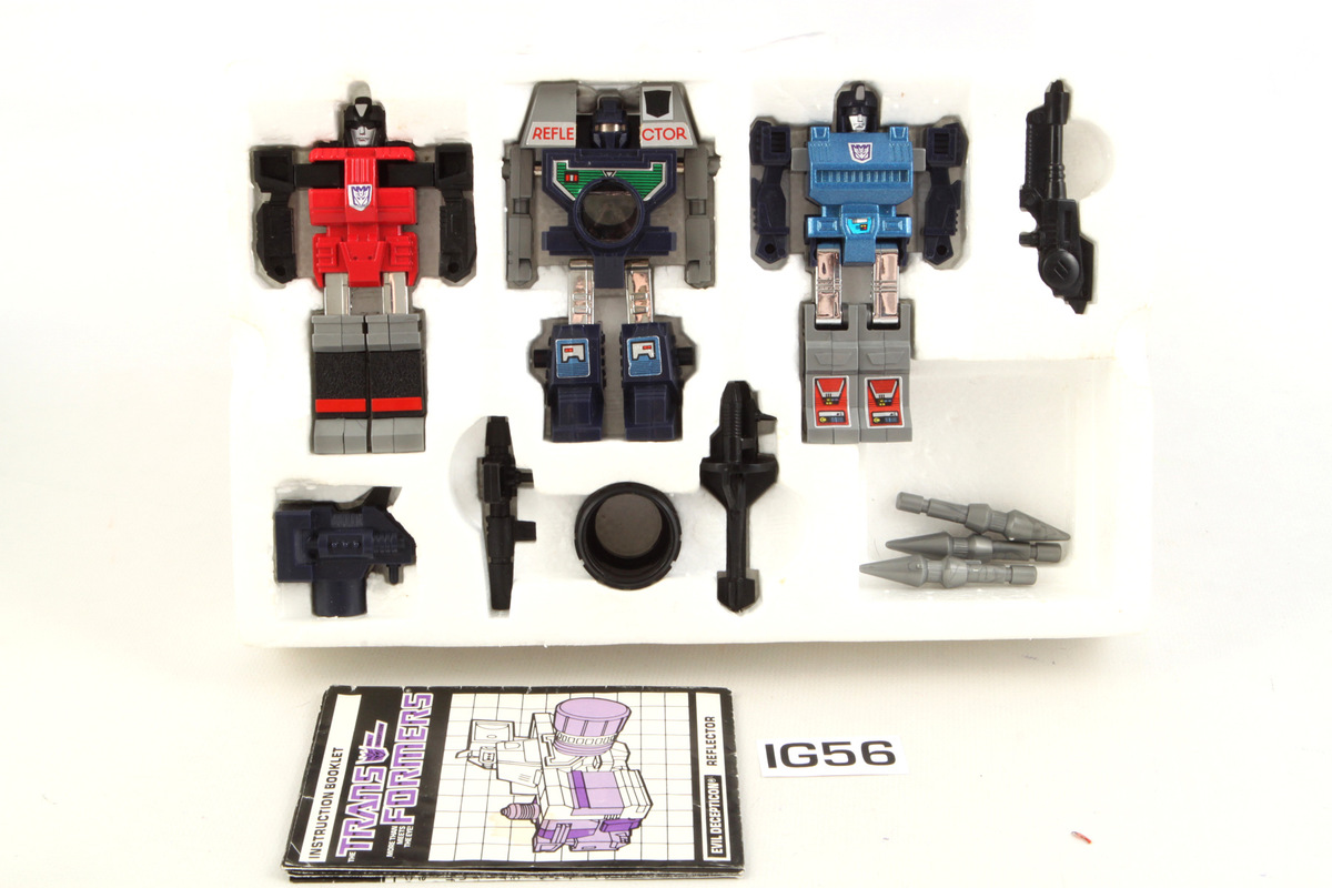 Transformers REFLECTOR G1 Reissue Spyglass Spectro Viewfinder Robot Christmas