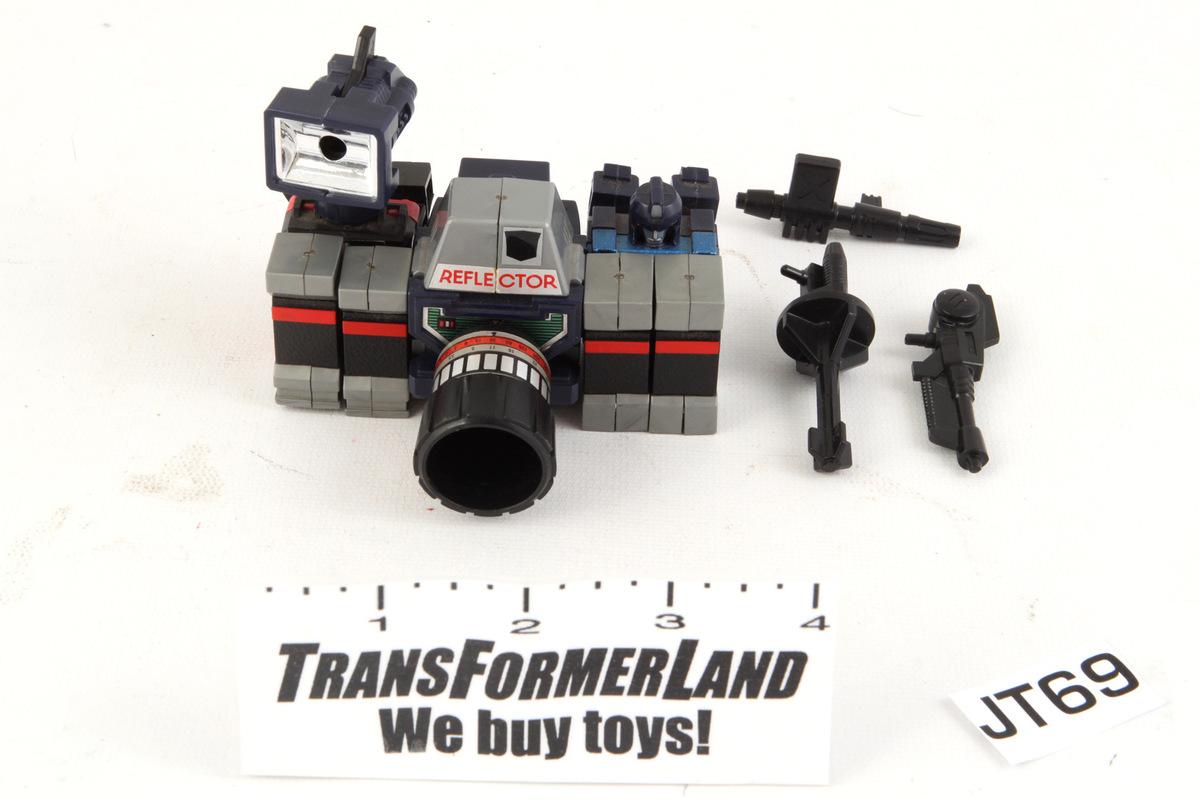 Transformers Reflector G1 Re-issue Decepticon Camera Hasbro Collection Toys KO