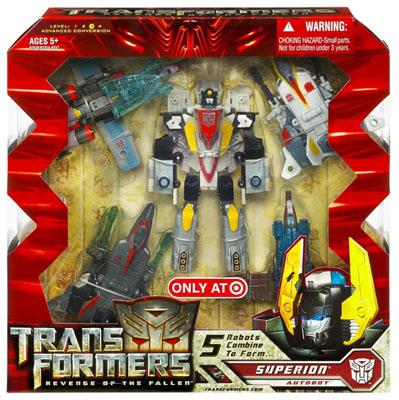 Transformers  Revenge of the Fallen AIR RAID Hasbro Superion Rotf